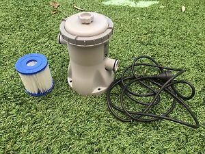 25W pool filter pump with new filter Boronia Knox Area Preview