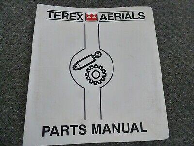 Terex Aerials Mp80 Telescopic Boom Man Lift Parts Catalog Manual Book