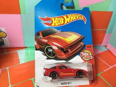 '95 MAZDA RX-7✰Kmart Exclusive RED THEN AND NOW✰2017 Hot Wheels New On Card