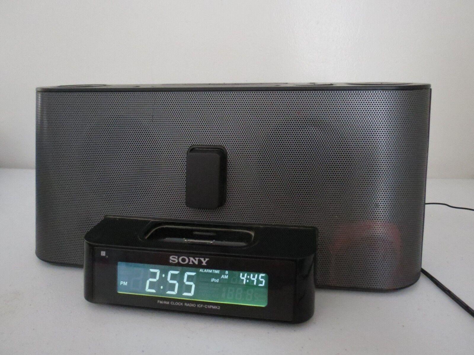 Sony FM/AM Clock Radio ICF-C1!PMK2