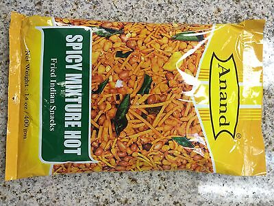 Spicy Kerala Snack Mix Anand Indian Ready to Eat Trail Mix 400gm 14oz Mixture