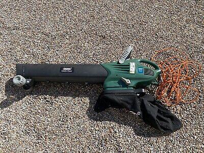 Draper 45543 2,200-Watt Garden Vacuum, Blower, Mulcher