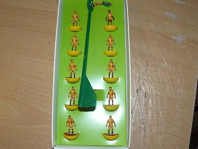 MELCHESTER ROVERS 1970'S AWAY KIT SUBBUTEO TOP SPIN TEAM