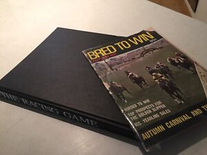 The Racing Game ( large book) and Bred to Win (1971 magazine)
