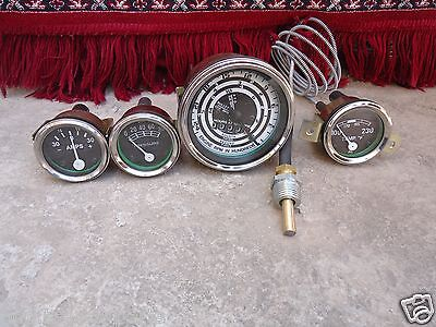 Ford Tractor 8N, 9N , 2N - Tacho,Temp, Oil Pressure, Amp Gauge Kit, used for sale  Shipping to Canada