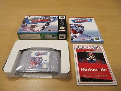 N64 Nintendo 64 Spiel - WAYNE GRETZKY´S 3D HOCKEY 98 - OVP - PAL - RAR - TOP