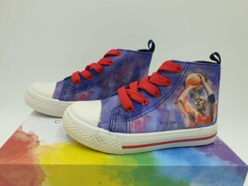 Michael Jordan Motiv Kinder Basketball Schuhe Sneaker Turnschuh Größe 27-34