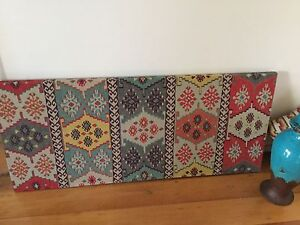 Moroccan wall hanging and matching cushions Hamilton Newcastle Area Preview