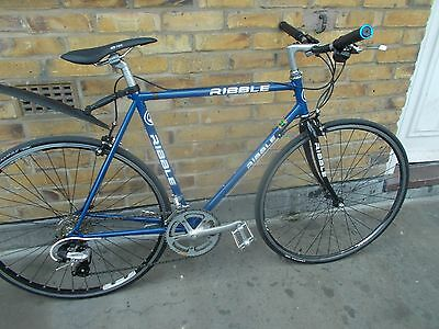 Fully Custom Built Ribble Road Bike Vintage Retro Reynolds 531 Tubing Eroica era