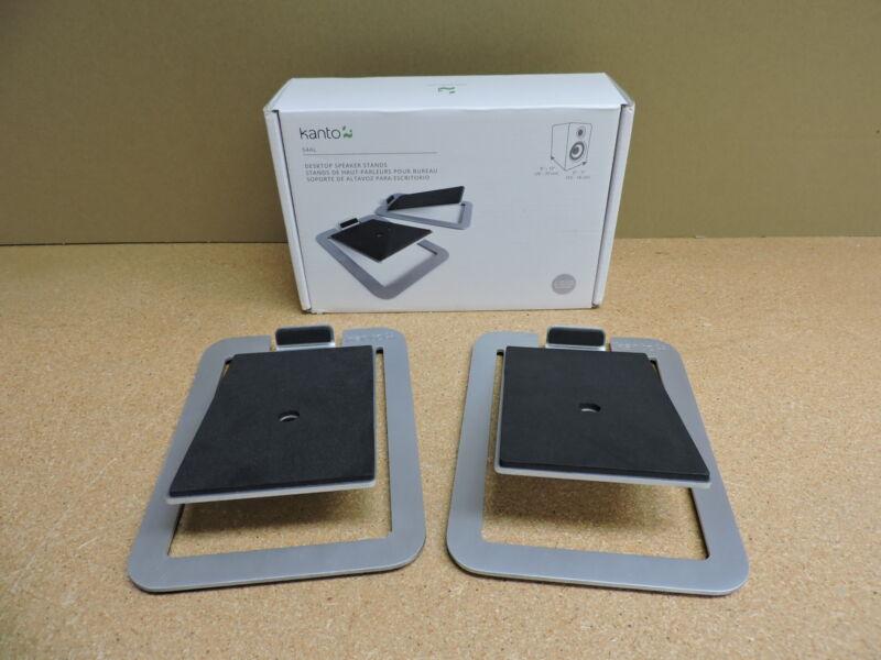 Kanto S4 Desktop Speaker Stands - Pair (Aluminum)
