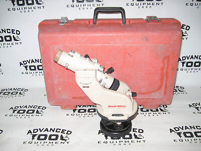 David White Lt8-300ltu 26x Universal Line Transit Unit Auto Level Measuring
