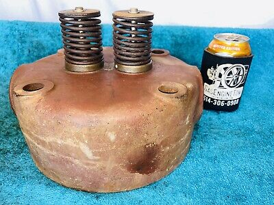 Original Head For Diesel Witte Hit Miss Engine Antique Great Condition