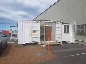 Shipping Container Office Complete Set Up Newcastle Newcastle Area Preview