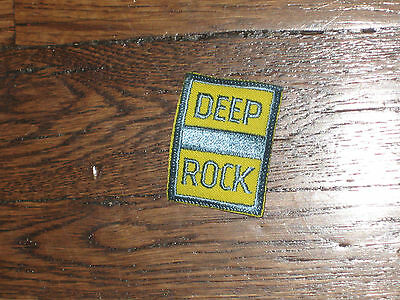 deep rock, gas station. patch,60's