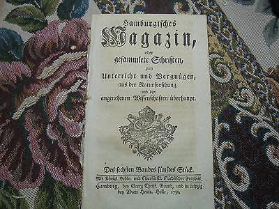 1750 ... Magazin 5 / John Arbuthnot Menschund Luft Früchte Blumen Pollen