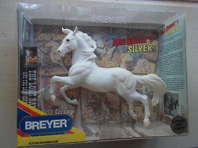 Breyer Lone Ranger's Silver Hollywood Heroes Series White w Video 2001-2006 NIB
