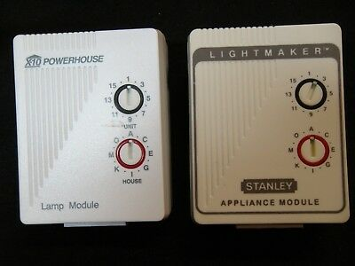 X-10 Activehome 1 Lamp Module, and 1 Appliance Module  for sale  Birmingham
