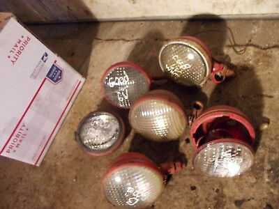 5 Farmall H M 300 350 400 450 Cub Tractor Orgnal Work Front Head Lights 1 Rear