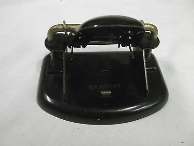 Old Hole Punch D. R. Patent Office Paper Vintage Rare Rare