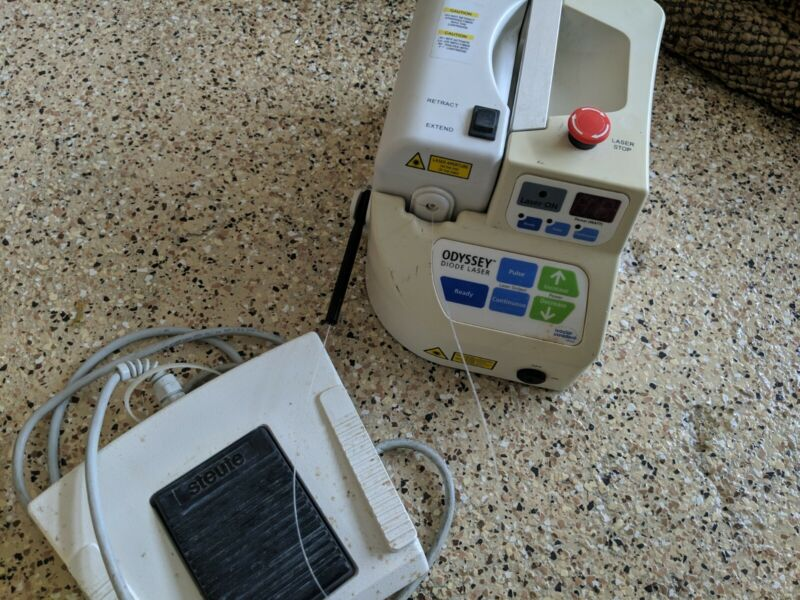 Ivoclar Odyssey Diode Laser w foot pedal included