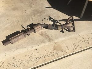 Exhaust header and Catalytic converter