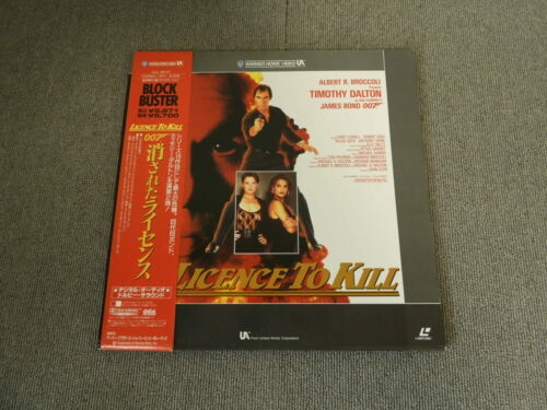 007 - Licence to Kill - Laser Disc - OBI JAPAN LD