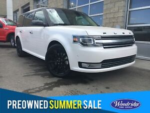 2017 Ford Flex Limited 3.5l v6 Ecoboost, Navigation, heated a...