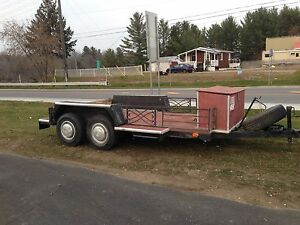 Heavy duty double axel trailer