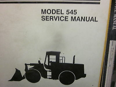 Dresser 545 Wheel Loader Service Manual