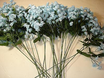 Christmas Picks 12 Pcs bulk wholesale lot floral Crafts FLOWERS Babie's Breath 7