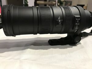 Sigma 150-500mm F5-6.3 APO DG OS for Canon