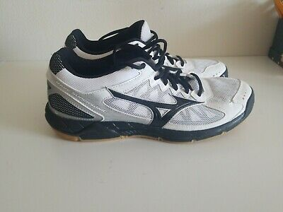 mizuno womens volleyball shoes size 8 x 1 nm kit navy