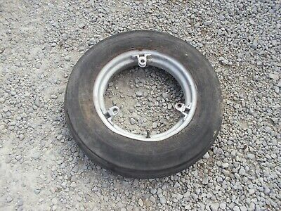 Farmall H M Sh 300 350 Sm Mta Tractor Ih Buckle 15 Front Rim Armstrong Tire