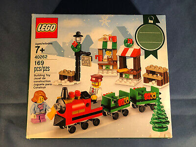 LEGO 40262 Limited 2017 Holiday Christmas Train Ride New in Sealed Box FAST SHIP