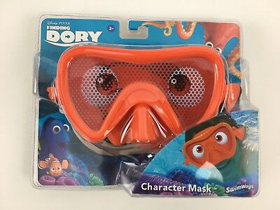 23ba24b587 Swim Mask Kids Finding Dory Orange Disney Pixar Goggles Ages 3+