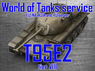 World Of Tanks Eu  Na  Ru And Asia   T95e2   Tier 8 Premium Tank