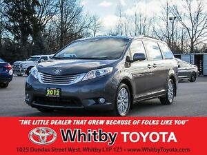 2012 Toyota Sienna LTD AWD