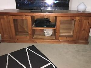 Timber TV Unit FREE Minto Campbelltown Area Preview