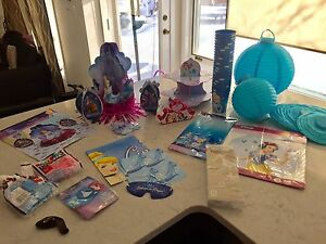 Cinderella princess birthday party supplies and decorations