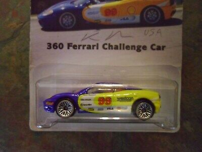 hot wheels ferrari 360 challenge car special edition
