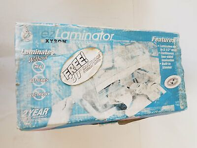 Xyron ezLaminator Laminating Machine Model #2001 Original Box