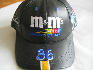 New-m-amp-m-Racing-Team-36-Genuine-Leather-Hat-Cap-by-Modern-Made-in-USA