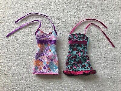 BUNDLE 2 ORIGINAL BARBIE DRESSES. BY MATTEL