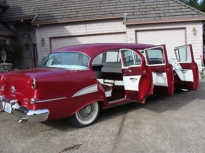 1955 Oldsmobile Eighty-Eight  1955 Oldsmobile Super 88 Limo