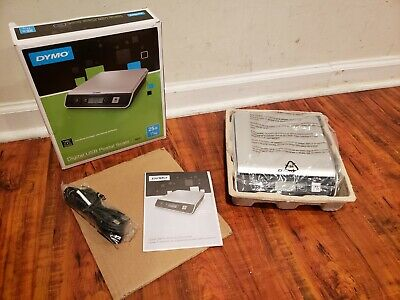 New Open Dymo M25 Digital Usb Postal Shipping Scale 25 Lb 11 Kg Weight Capacity