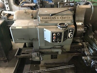 Bardons Oliver Metal Lathe No. 6 Metalworking Located In Ct See Others