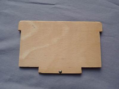 vintage Unterteilung Teiler für alten Holz Karteikasten DIN A6 quer Postkarten, gebraucht gebraucht kaufen  Waiblingen