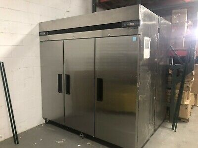 Blue Air Bsr72t T-series Top Mount Refrigerator - 3 Door Commercial True Upright