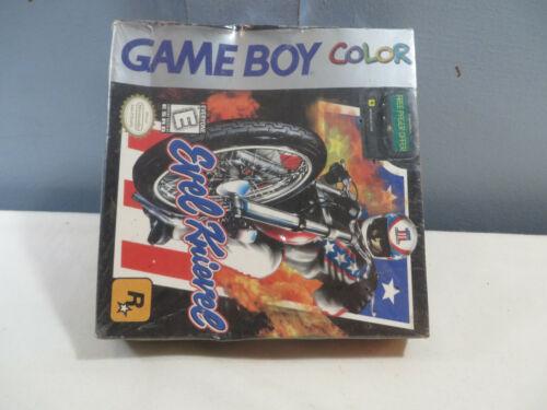 1999 INTENDO GAME BOY EVEL KNIEVEL GAME FACTORY SEALED