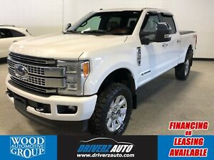 2018 Ford F-350 Platinum PLATINUM ULTIMATE PACKAGE.